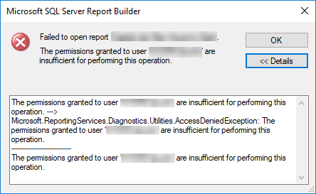 SSRS 2016 Report Builder Permissions – JenKuntz ca