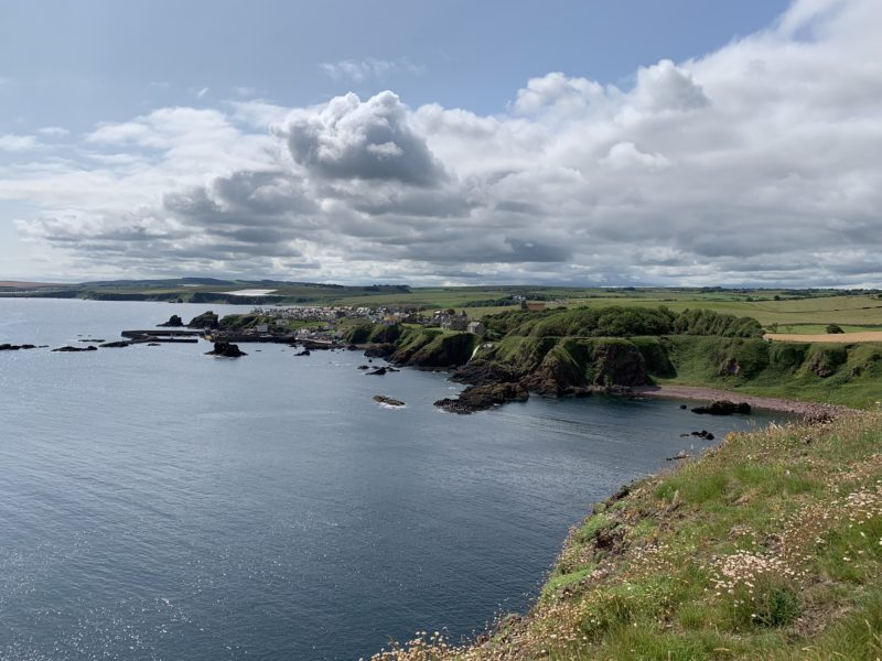 Coastal view looking towards St. Abbs.